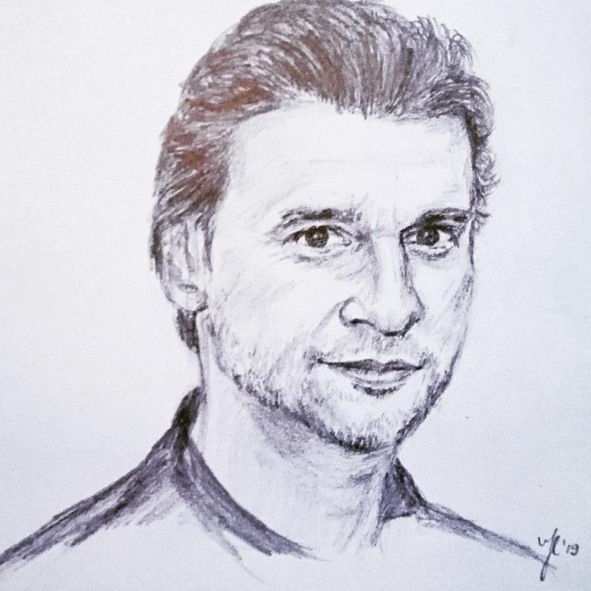 Dave Gahan by Siersils